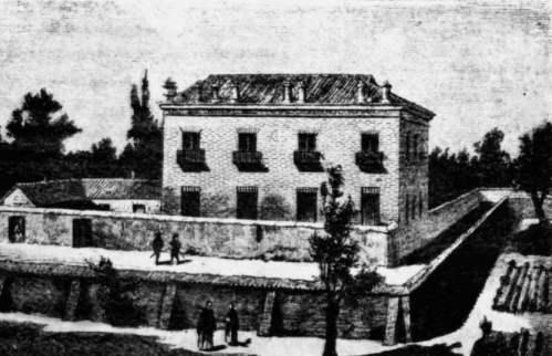 El fantasma de la casa de las siete chimeneas leyendas madrid mitologia y leyendas - Chimeneas en mallorca ...